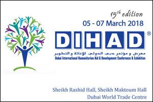 Dubai International Humanitarian Aid & Development Conference & Exhibition – DIHAD 2018