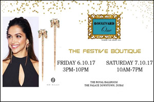 Boulevard One presents FESTIVE BOUTIQUE 2017