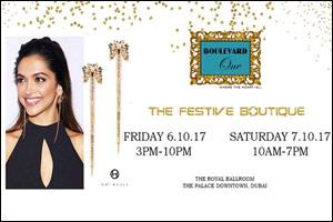 Boulevard One presents FESTIVE BOUTIQUE 2017