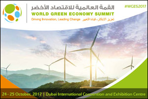 The World Green Economy Summit (WGES) 2017