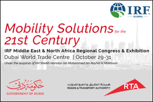 IRF Middle East & North Africa Regional Congress & Exhibition 2017