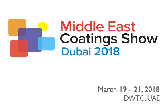 Middle East Coatings Show 2018, Exhibition