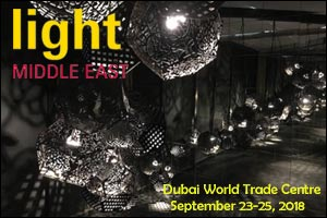 Light Middle East Exhibition 2018