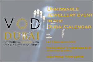 VOD Dubai International Jewellery Show 2018