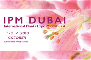 IPM Dubai 2018 - International Trade Fair for Plants & WOP 2018- World of Perishables Dubai