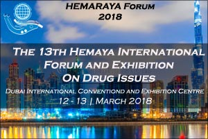 Hemaya International Forum & Exhibition on Drug Issues 2018