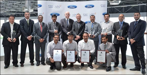 Al Tayer Motors Workshops Top Ford's Service Excellence Certification in the Middle East : GoDubai.com