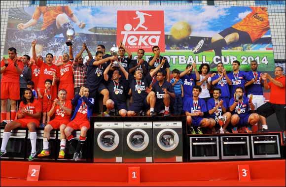 Kut Kut Wins The Six A Side Teka Uae Partners Football Cup 2014