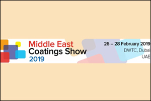 Middle East Coatings Show 2019