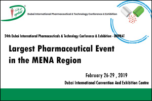 Dubai International Pharmaceuticals and Technologies Conference and Exhibition 2019