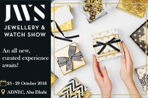 Abu Dhabi International Jewellery & Watch Show (JWS) 2018