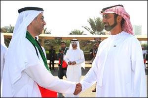 Crown Prince of Ajman Witnesses the 43rd UAE National Day Celebrations at Ajman University