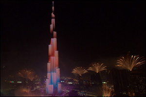 Dubai ushers in 2015 with world's most-watched New Year's Eve spectacle by Emaar in Downtown Dubai