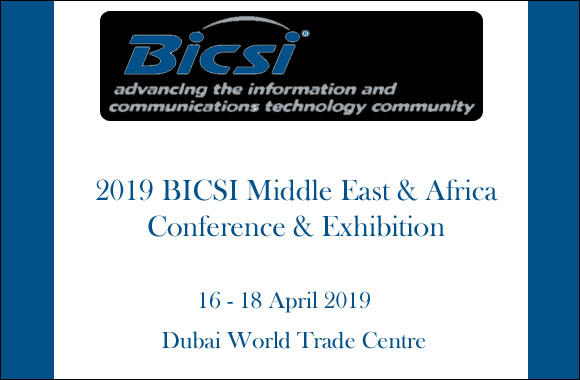 2019 BICSI Middle East & Africa Conference & Exhibition, Conference