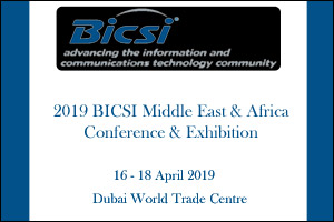 2019 BICSI Middle East & Africa Conference & Exhibition