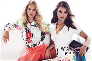 marciano unveils the spring 2015 collection and advertising campa...