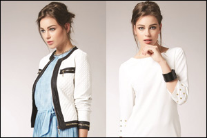 gaudÌ italia presents an indigo glam for women this spring-s...