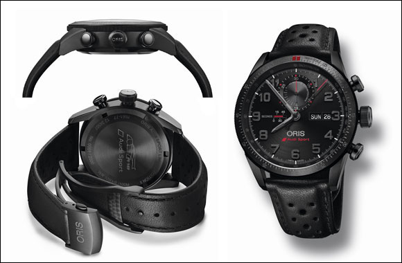 2869dd386 Oris introduces the Audi Sport Limited Edition II in the Middle East ...
