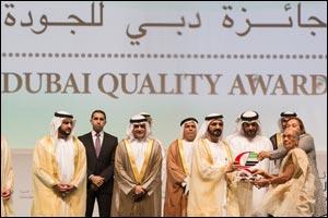 HH Sheikh Mohammed Bin Rashid Al Maktoum Presents Zulekha Hospitals with Dubai Quality Award