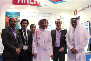 His Highness Faisal S.A. Al Faisal visits Global Innovations on ATMs opening day