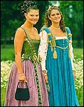 Crown Princesses Victoria and Madeline of Sweden